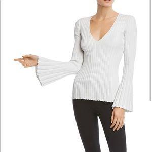 Bailey 44 Metallic bell sleeve sweater